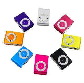 Máy nghe nhạc Mp3 mini nhiều màu kèm tai nghe dây cáp sạc Dũng Dũng 1 thumbnail