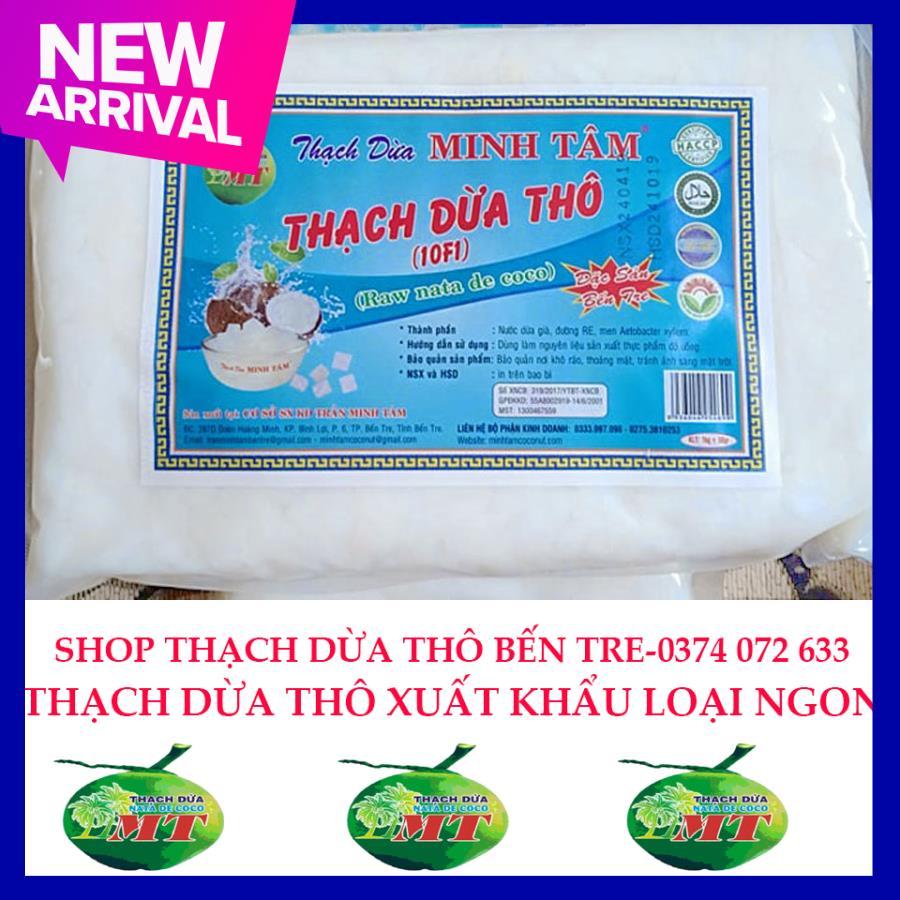 Thạch Dừa Thô Bến Tre 1kg+ Hương Dừa Đang Giảm Giá