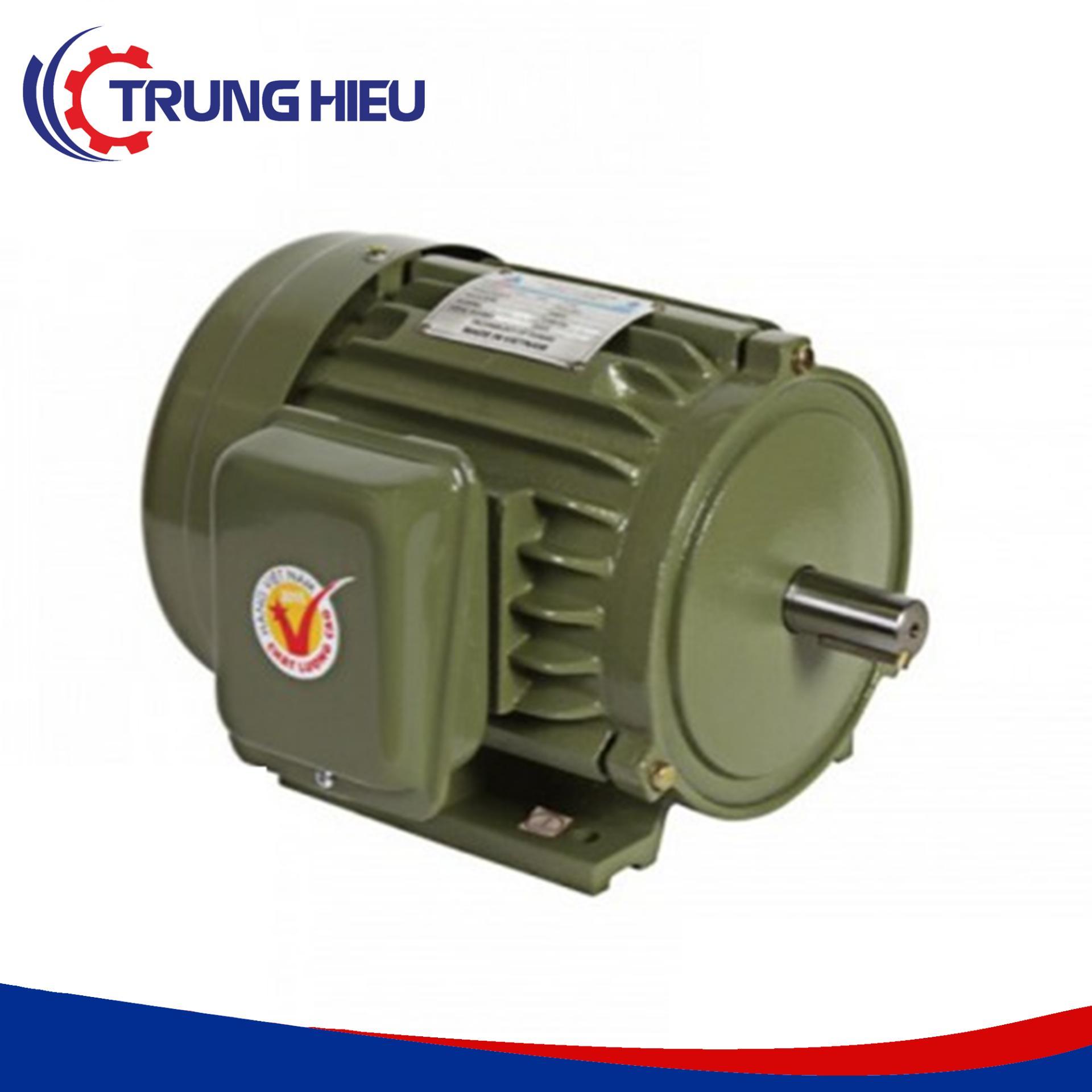 Motor vỏ gang chân đế Hồng Ký HKM234 2HP 380V 1450v/p
