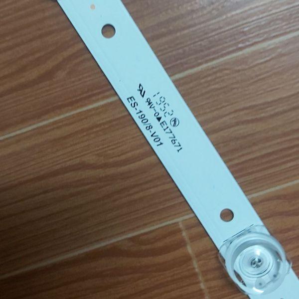 Bảng giá thanh led tivi asanzo 43 inch gia ban 1 thanh 8 bóng