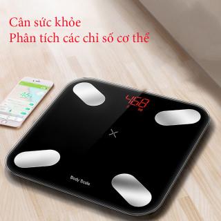 Cân sức khỏe điện tử thông minh phân tích cơ thể Perfect, cân đo độ béo, mỡ, lượng nước, cơ bắp thumbnail