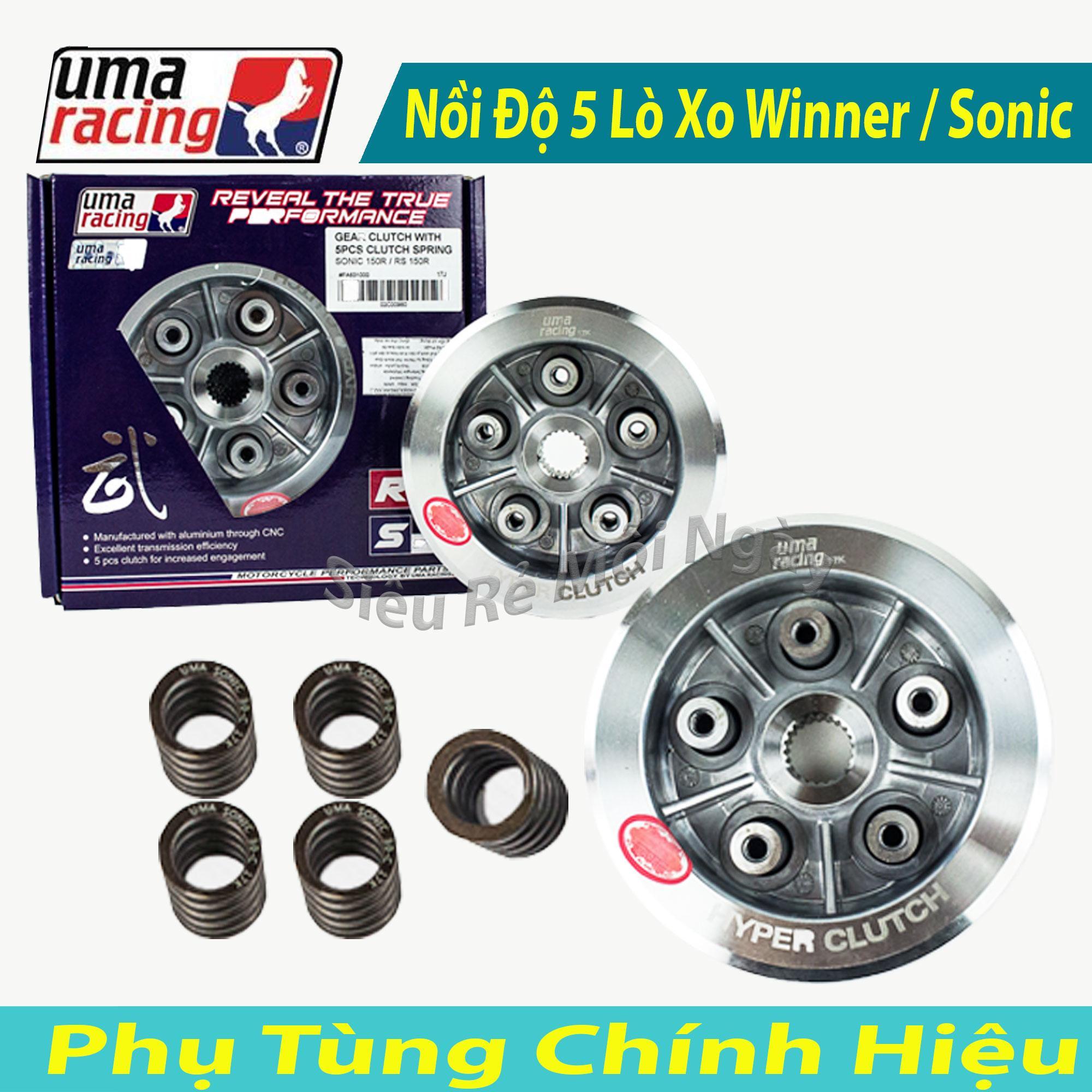 Cơ Hội Giá Tốt Để Sở Hữu Bộ Nồi Độ Uma Racing 5 Lò Xo Dùng Cho Winner 150cc, Sonic 150cc
