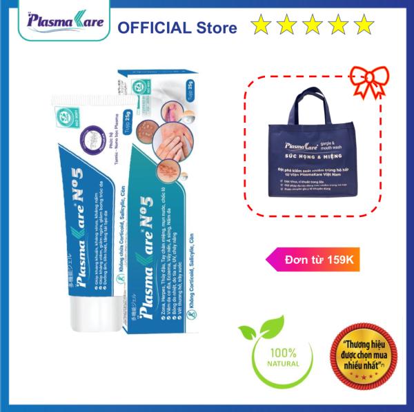 [ FREESHIP ] PlasmaKare No5, gel bôi đa năng, kháng khuẩn, tiêu sưng, giảm ngứa, tái tạo da và niêm mạc bị bỏng, vết thương hở, viêm da do vi khuẩn, virus, vi nấm