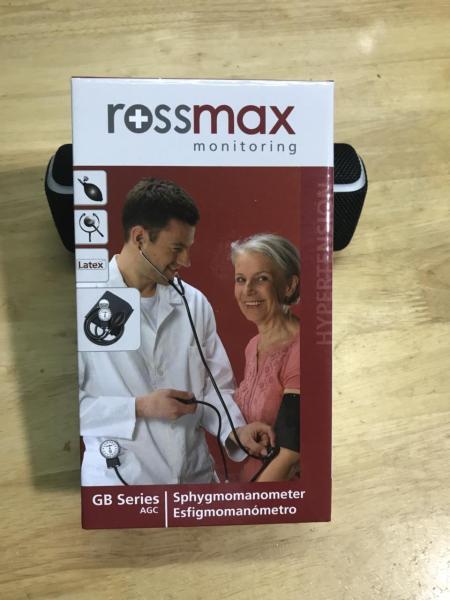 [Nhập ELMAY21 giảm 10% tối đa 200k đơn từ 99k]Huyết áp cơ Rossmax Full box + Tặng kèm tai nghe