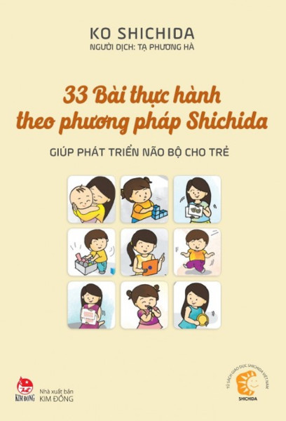 33 Bài Thực Hành Theo Phương Pháp Shichida - Giúp Phát Triển Não Bộ Cho Trẻ