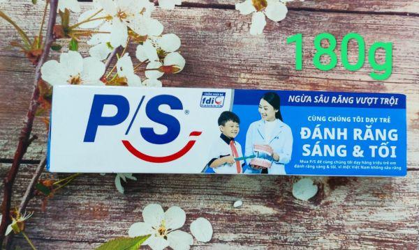 Kem đánh răng P/S 180g - Ngừa sâu răng vượt trội giá rẻ