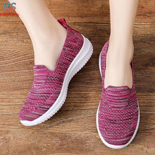 Rs0x0 Giày Vải Dệt Thường Ngày 48H, Giày Lưới Thoáng Khí Cho Mẹ Giày Đi Bộ Trung Niên Và Người Già thumbnail