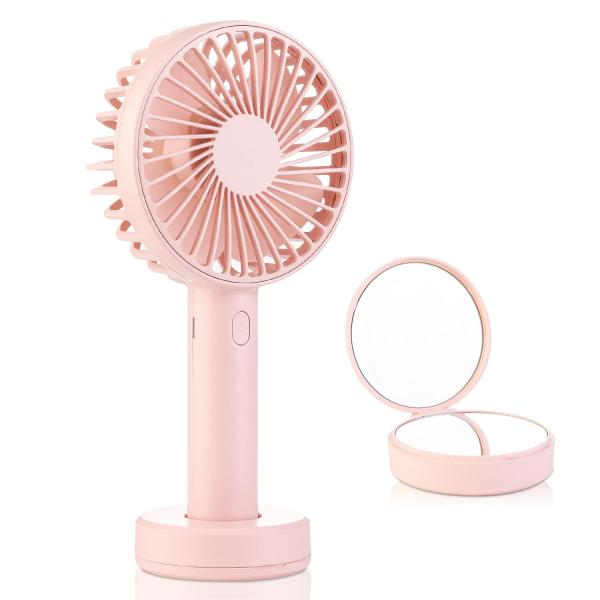 Aairhut H2 handheld fan [fan blade can be cleaned] 2500mAh large capacity battery 3 stage large adjustable large air volume handheld mini fan