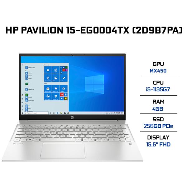 Bảng giá [VOUCHER 3 TRIỆU] Laptop HP Pavilion 15-eg0004TX 2D9B7PA i5-1135G7 | 4GB | 256GB | VGA MX450 2GB | 15.6 FHD | Win 10 + Office Phong Vũ