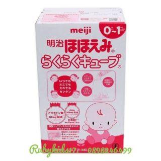 Sữa Meiji Thanh 0 -1 nội địa Nhật 24 thanh 27g date 2021 - Meiji 0 - 1 thumbnail