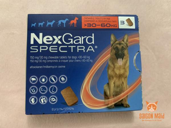 SaigonMaid- Viên Nexgard Spectra dành cho chó từ 30-60kg