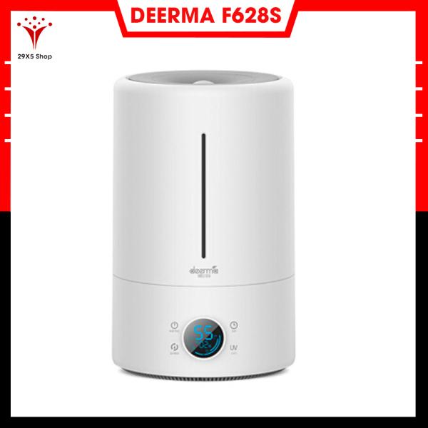 Máy tạo độ ẩm Deerma DEM-F628S (sử dụng được tinh dầu) - Phiên bản nâng cấp DEERMA F628 , có màn hình hiển thị, tuỳ chỉnh 3 mức độ hoạt động - Bảo hành 6 tháng