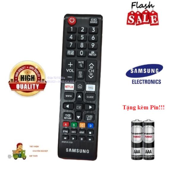 Bảng giá Remote Điều khiển tivi Samsung cơ 2020 cho các dòng tivi Samsung từ 2015 đến 2021- Hàng tốt tặng kèm Pin!!!