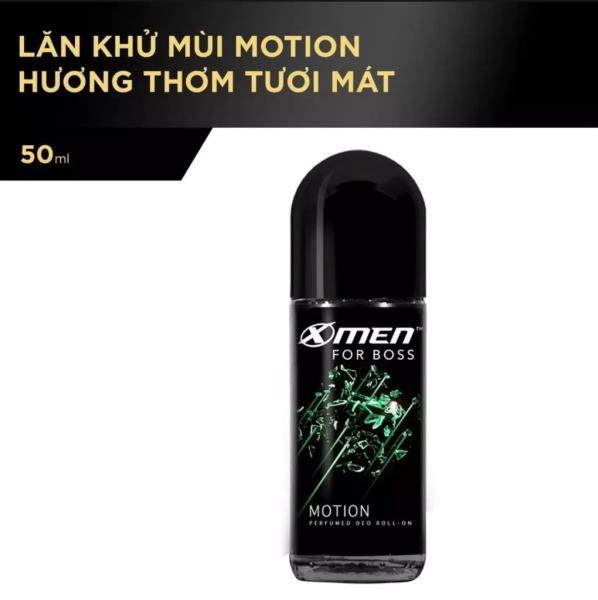 Lăn Khử Mùi Xmen For Boss hương motion 50ml