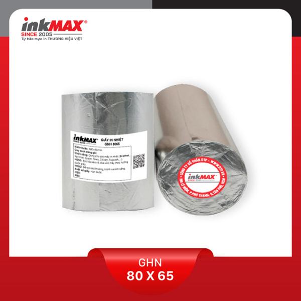 Mua ( Combo 100 cuộn ) Giấy in nhiệt K80x65 - Giấy in BILL - Giấy in hóa đơn - Hàng chính hãng inkMAX