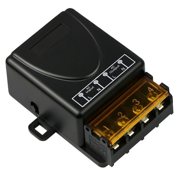Công Tắc Điều Khiển Từ Xa 220V – Có Remote - Bộ điều khiển từ xa công suất 3000W - điều khiển từ xa máy bơm nước, máy rửa xe công suất lớn