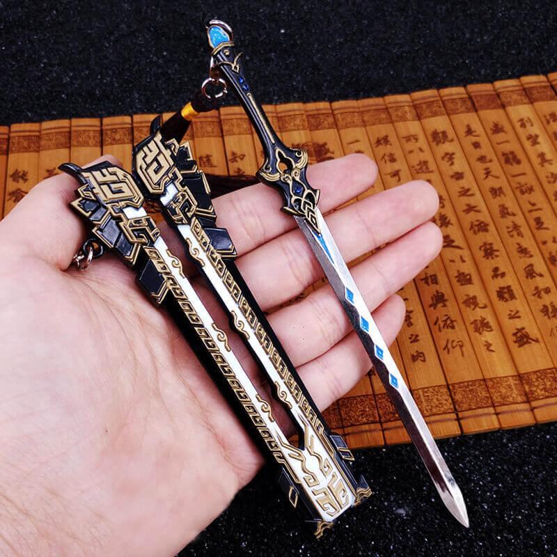 Mua Mô hình JX3 Móc khóa kiếm xích tiêu hồng liên thuần dương phái