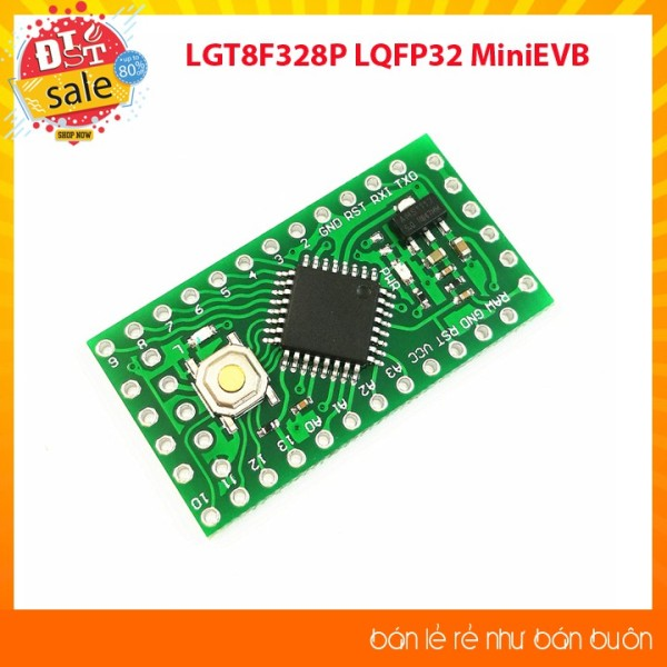 Bảng giá [RẺ VIỆT NAM]LGT8F328P LQFP32 MiniEVB 5V - Kít phát triển Phong Vũ