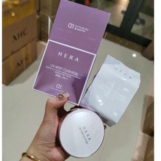 Phấn Nước Chống Nắng Kiềm Dầu Hàn Quốc Hera UV Mist Cushion Cover SPF50+ PA+++ 15gx2 thumbnail