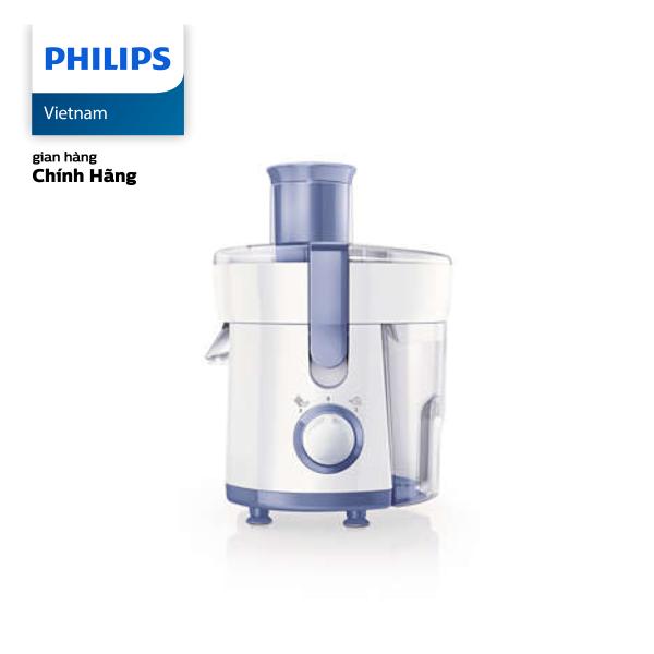 Máy Ép Trái Cây Philips HR1811 300W (Trắng Xanh) - Hàng phân phối chính hãng
