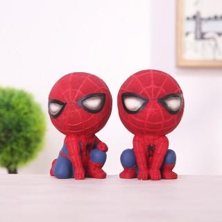 Mô hình Người Nhện siêu cute (Set 2) Tiểu cảnh Spider Man terrarium để bàn mini thumbnail