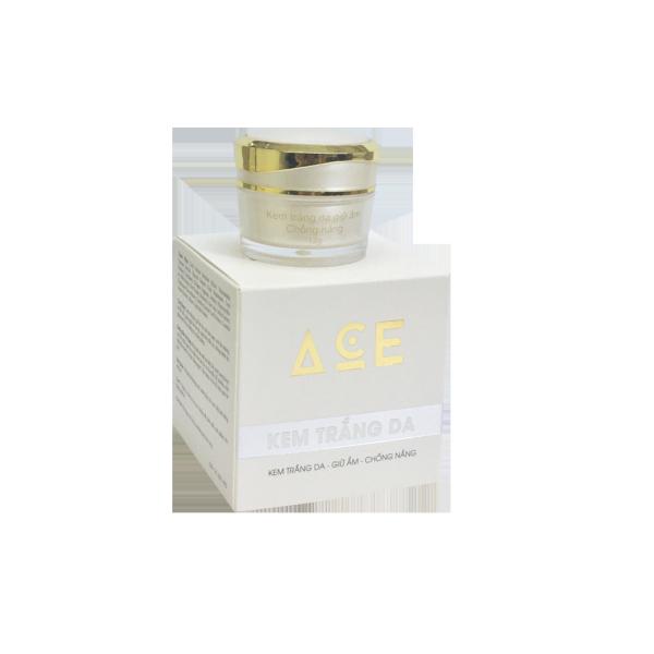 Kem dưỡng trắng da, chống nắng, giữ ẩm, cấp ẩm cho da - Kem ACE (12g), giữ ẩm cho làn da, giúp làn da không khô nứt, chống nắng, trắng da , giảm mụn hiệu quả. giá rẻ