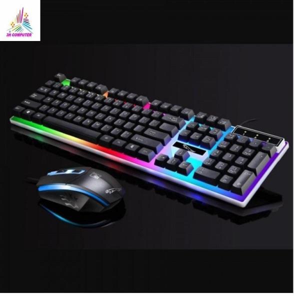 Bảng giá Combo bàn phím và chuột giả cơ G21, Bộ bàn phím giả cơ và chuột game dành cho game thủ G21 led đa màu Phong Vũ