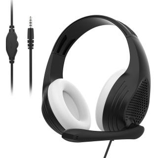 Anivia A9 Tai nghe chụp tai game giắc cắm âm thanh 3.5 mm với micrô Âm thanh vòm 3D Âm thanh nổi Tai nghe có dây Âm thanh trầm sâu cho Xbox PS4 PC Mac Iphone Android thumbnail