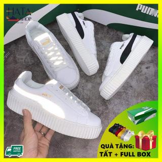 (Hàng VNXK - video thật ) Giày thể thao sneaker nam nữ chất liệu Da Cao Cấp siêu bền, chống nước Hot Trend 2020, giày bata nam nữ mang cực đẹp, cực êm chân, giày đôi nam nữ đẹp thumbnail