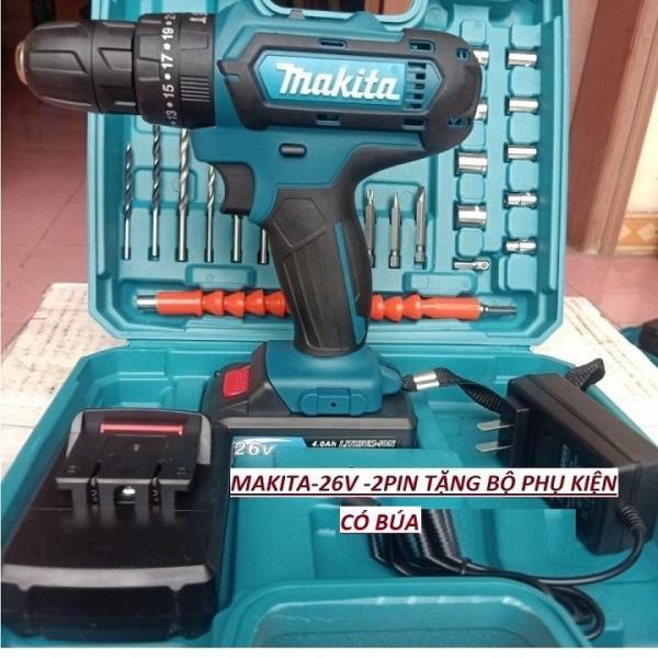Máy khoan máy khoan pin makita 26v