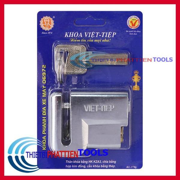 Khoá thắng đĩa xe máy chống cắt Việt Tiệp 06972 ( Hàng Việt Tiệp Chất Lượng )