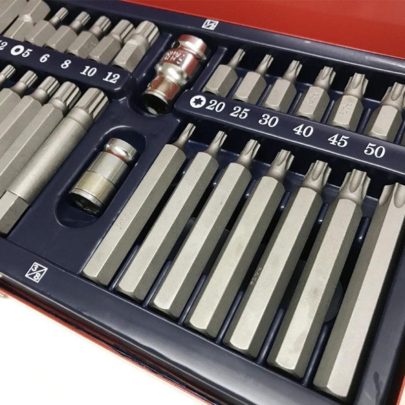 Bộ lục giác chữ t,Bộ lục giác công nghiệp, Bộ mũi vít lục giác, Bộ lục giác 40 món TOP - TBS-11026, thiết kế thông minh, chất lượng siêu đỉnh