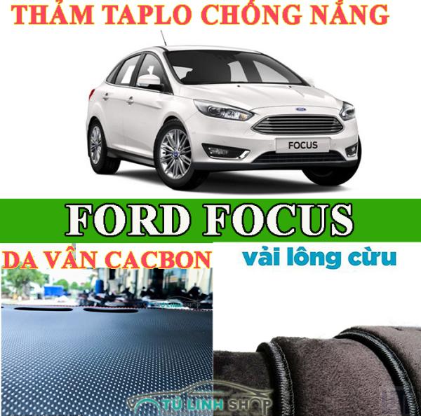 Thảm chống nắng taplo dành cho xe Ford FOCUS