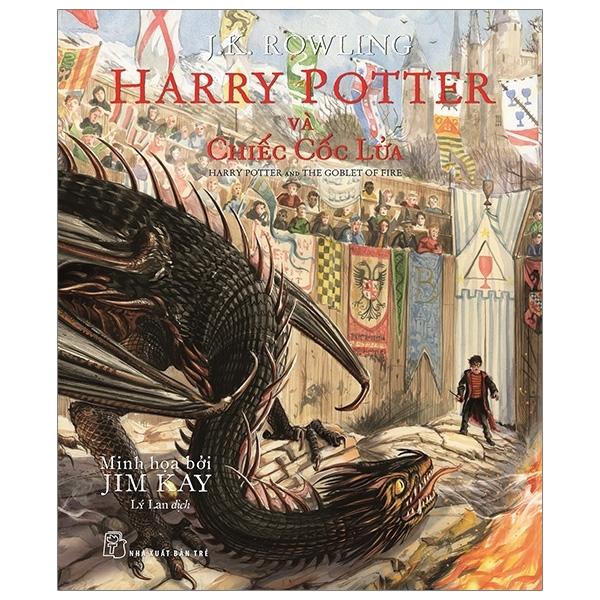Mua Fahasa - Harry Potter Và Chiếc Cốc Lửa - Bản Đặc Biệt Có Tranh Minh Họa Màu
