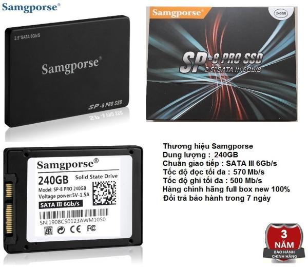 Bảng giá Ổ CỨNG SSD SAMGPORSE 120 GB CHÍNH HÃNG, BẢO HÀNH 3 NĂM Phong Vũ
