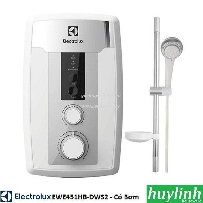 Bảng giá Máy nước nóng trực tiếp có bơm Electrolux EWE451HB-DWS2 - 4500W