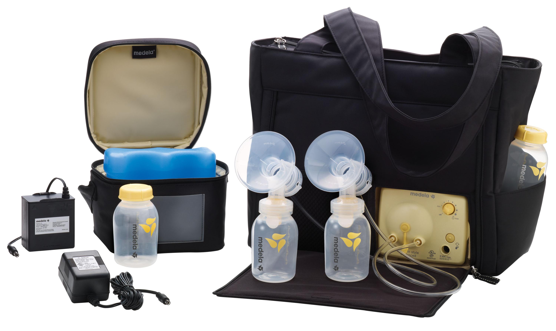 Máy hút sữa Medela Pump in style advanced đầy đủ phiên bản túi xách