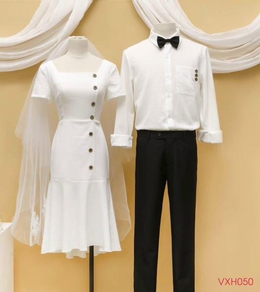 Sét đồ đôi nam nữ tình yêu mẫu mới sang trọng phong cách á âu thời trang Noble NB34