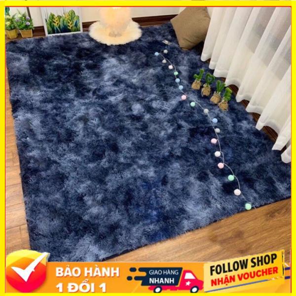 ( thảm loại dày- đế chống trơn ) Thảm Trải Sàn (160cm x 200cm ) Thảm lông trải sàn phòng ngủ phòng khách, thảm lông chụp ảnh - TLX