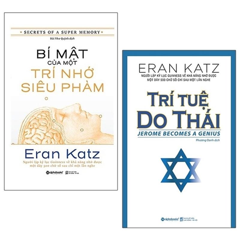 Fahasa - Combo Sách Hay Bí Mật Của Một Trí Nhớ Siêu Phàm + Trí Tuệ Do Thái (Bộ 2 Cuốn)