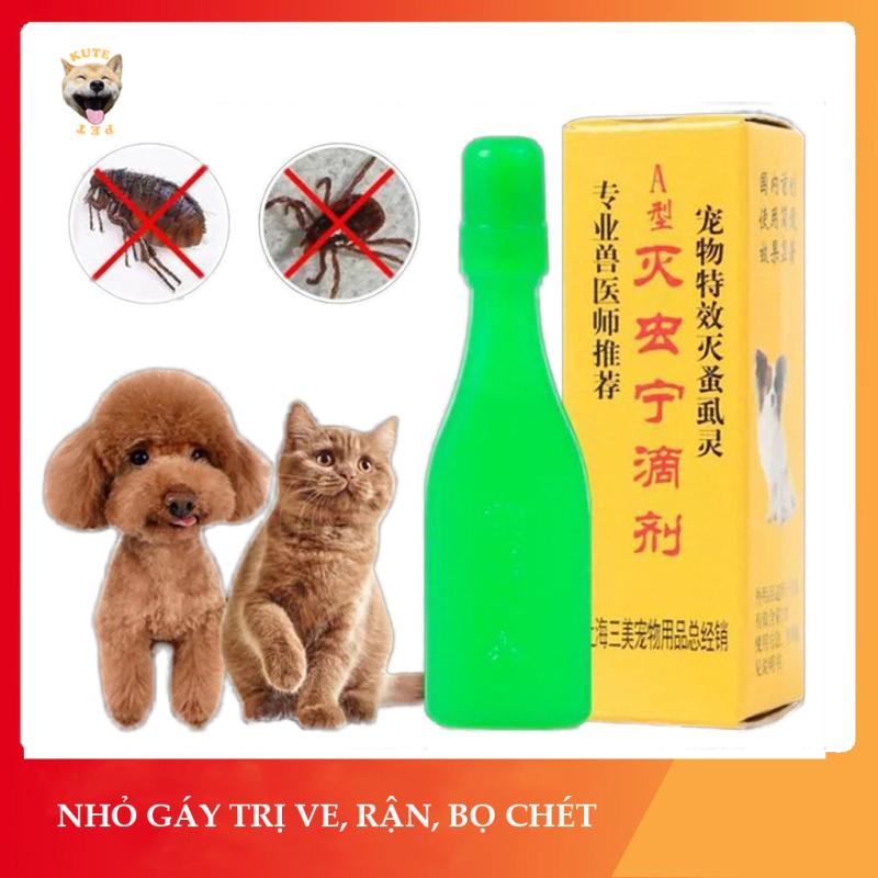 Dung dịch nhỏ gáy cho chó mèo cực hiệu quả