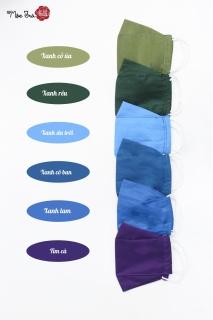 Mộc Trà Silk Khẩu Trang Tơ Tằm 2 Lớp - KTV thumbnail