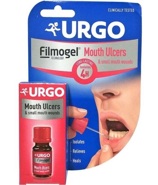 Hỗ trợ giảm nhiệt miệng và các vết thương nhỏ trong khoang miệng Urgo Mouth Ulcers 6ml