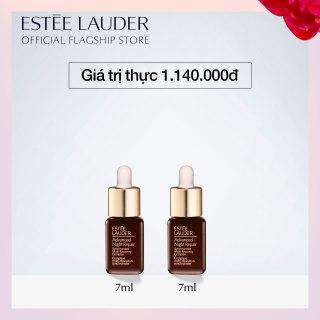 [Phiên bản trải nghiệm] Bộ 2 Estee Lauder - Tinh chất phục hồi chống lão hóa Estee Lauder Advanced Night Repair Synchronized Multi-Recovery Complex - Serum 7ml thumbnail