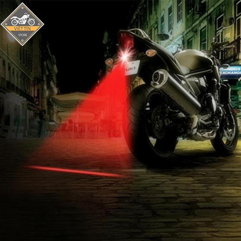 Đèn lazer đuôi xe oto xe máy chống SƯƠNG MÙ - MS11 - Kmart