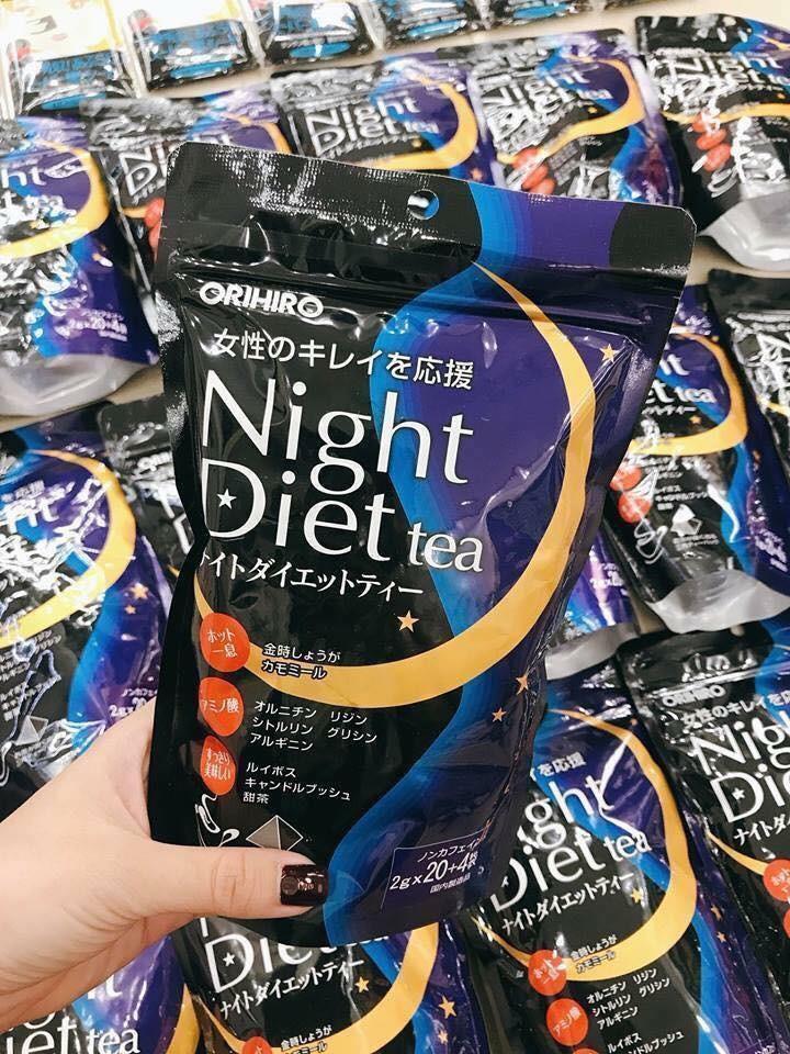 TRÀ GIẢM CÂN NIGHT DIET ORIHIRO 24 GÓI nhập khẩu
