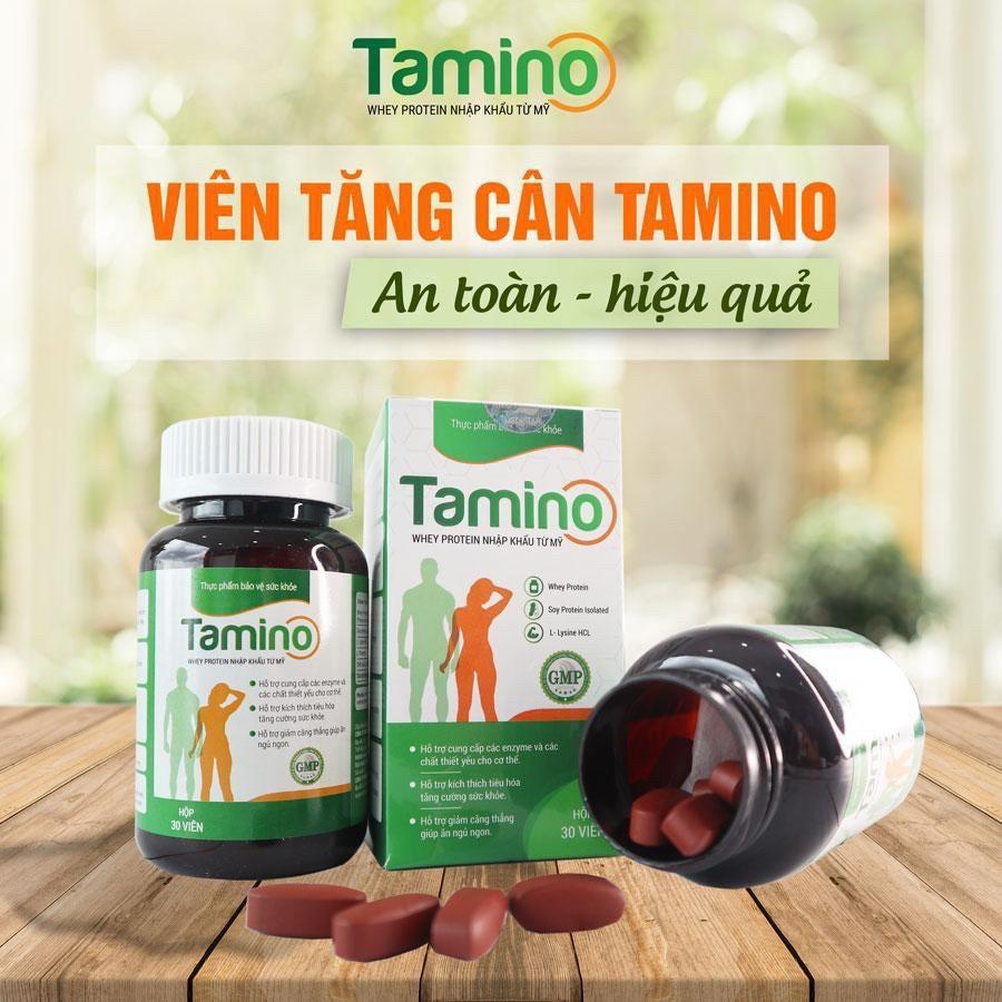 [HCM]Tăng cân TAMINO - Bổ Sung Hợp Chất Whey Protein từ Mỹ