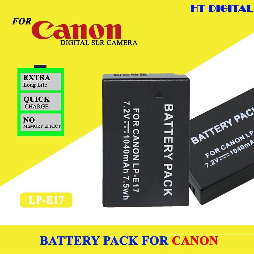 Giá Quá Tốt Để Có PIN LP-E17 CHO CANON 750D 760D, 77D, M3, M5, 800D, M6 (Tặng Kèm Bộ Sạc)