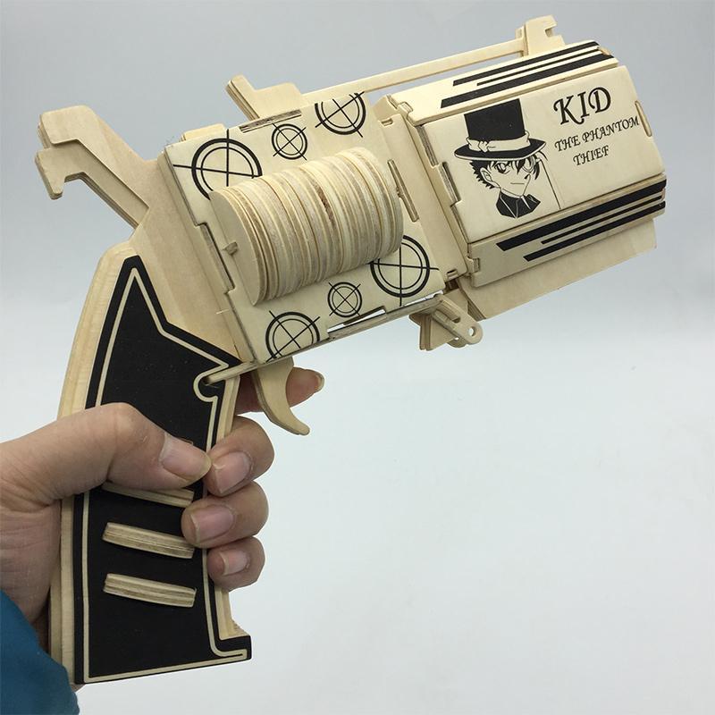 Offer Giảm Giá Đồ Chơi Lắp Ráp Gỗ 3D Mô Hình Kaito Kid