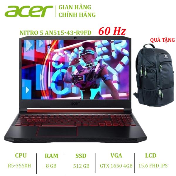 Bảng giá Laptop Acer Nitro 5 AN515-43-R9FD (R5-3550H | 8GB | 512GB | VGA GTX 1650 4GB | 15.6 FHD | Win 10) Phong Vũ